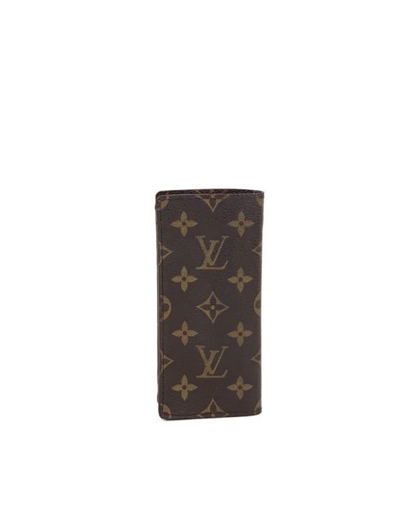 Louis Vuitton Monogram Etui a Lunettes Simple Eyeglass Case