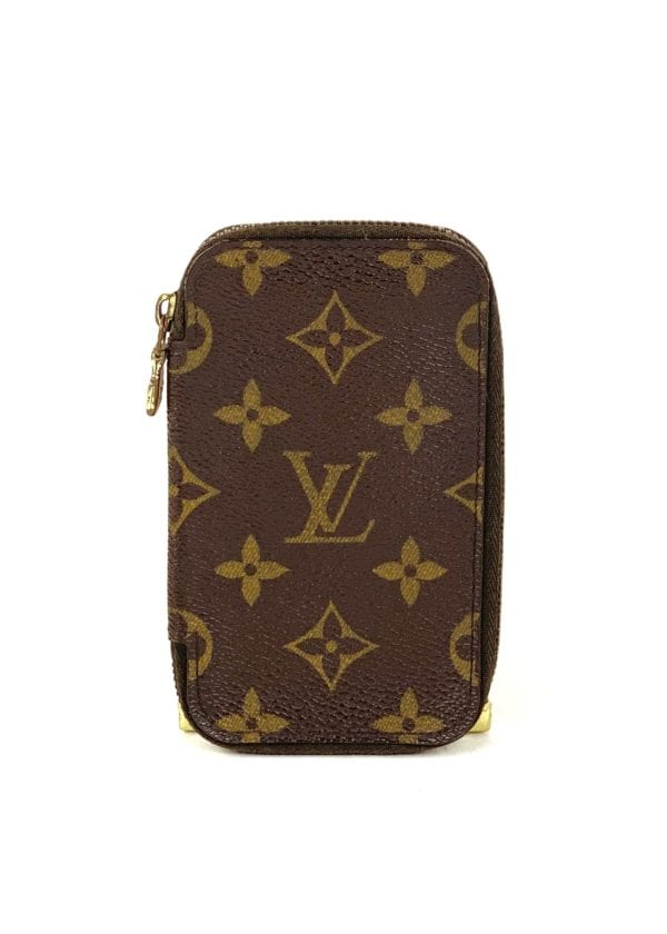 Louis Vuitton Monogram Zip Around 6 Key Holder