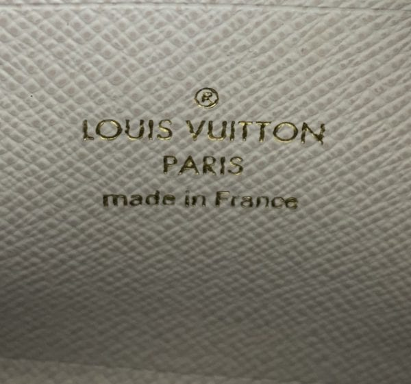 Louis Vuitton Ivory Monogram Canvas Jungle Zippy Coin Wallet