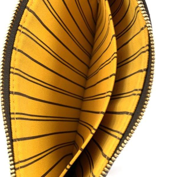 Louis Vuitton Monogram Neverfull Pochette Mimosa