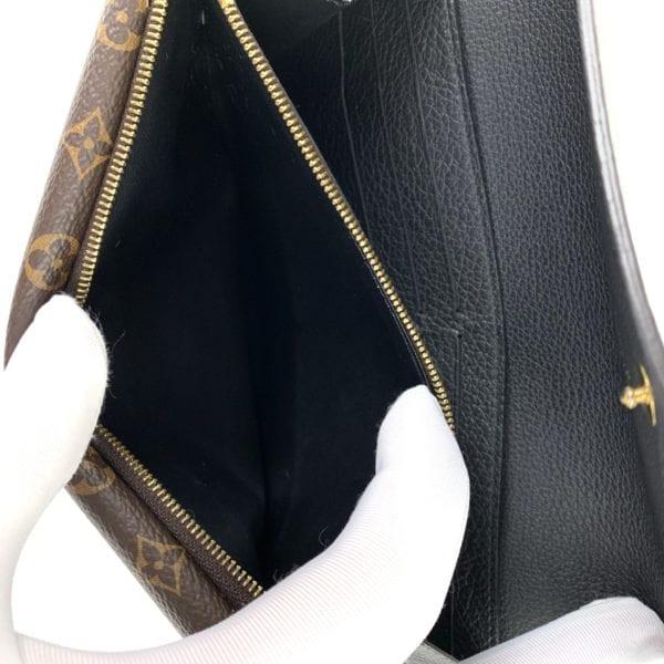 Louis Vuitton Double V Monogram and Noir Leather Wallet