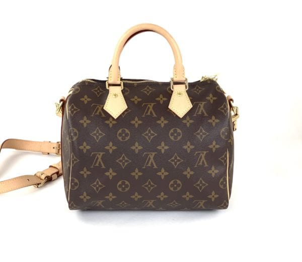 Louis Vuitton Monogram Speedy Bandouliere 25