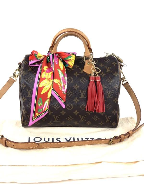 Louis Vuitton Monogram Speedy Bandouliere 30