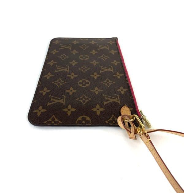 Louis Vuitton Monogram Neverfull Pochette Pivoine