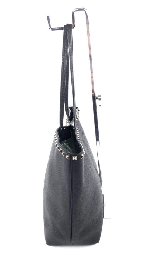 Valentino Garavani Rockstud Vitello Tote Bag