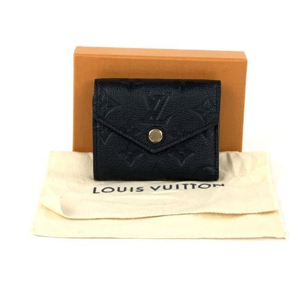 Louis Vuitton Empreinte Zoe Wallet Black