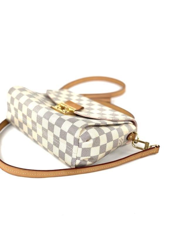 Louis Vuitton Damier Azur Croisette Crossbody