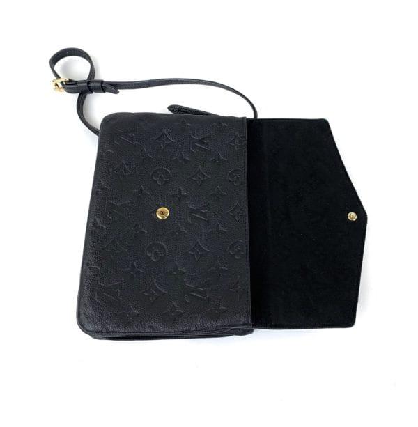 Louis Vuitton Empreinte Twinset Crossbody Black