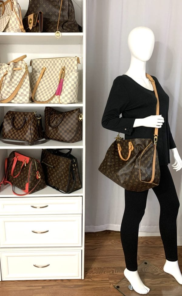 Louis Vuitton Monogram Speedy 40 Bandouliere