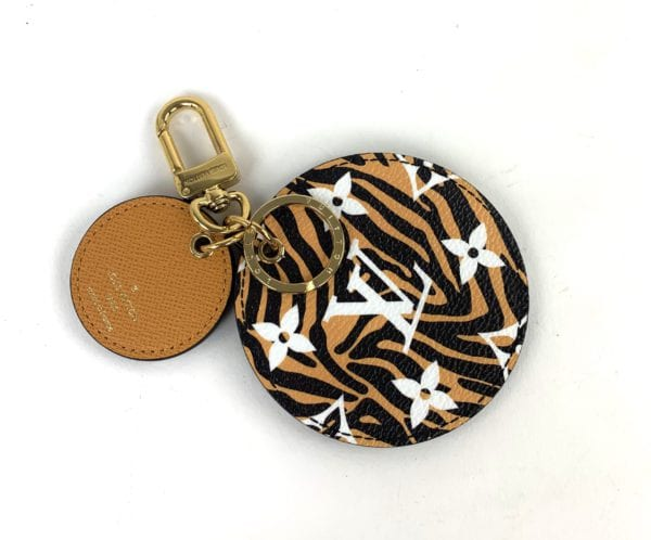 Louis Vuitton Monogram Jungle Bag Charm & Key Holder