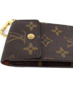 Louis Vuitton Monogram Porte Cles Badge Wallet