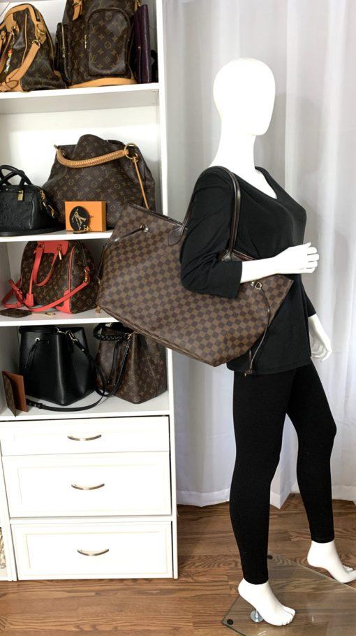 Louis Vuitton Damier Ebene Neverfull GM