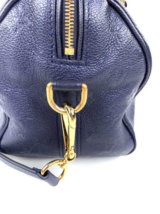 Louis Vuitton Empreinte Speedy Bandouliere 25 Celeste Blue