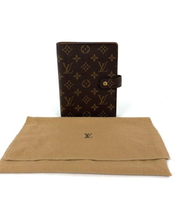 Louis Vuitton Monogram Agenda MM Organizer