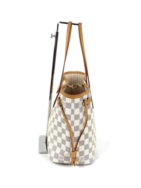 Louis Vuitton Damier Azur Neverfull PM with Pochette