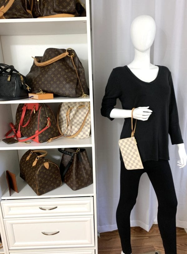 Louis Vuitton Damier Azur Neverfull PM with Pochette