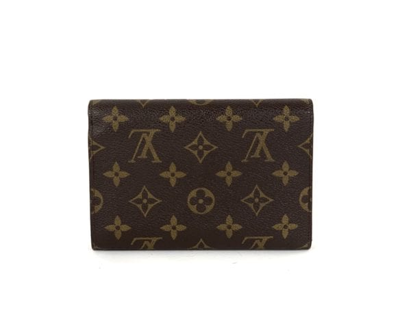 Louis Vuitton Monogram Porte-Trésor Étui Papier