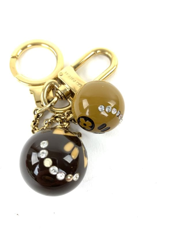 Louis Vuitton Halloween Jack and Lucie Key Holder Brown