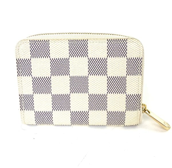 Louis Vuitton Damier Azur Zippy Coin Wallet