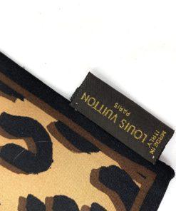 Louis Vuitton Stephen Sprouse Silk Leopard Bandeau Marron