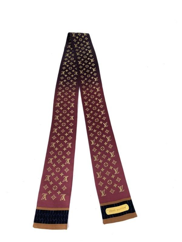 Louis Vuitton Silk Ombre Bandeau