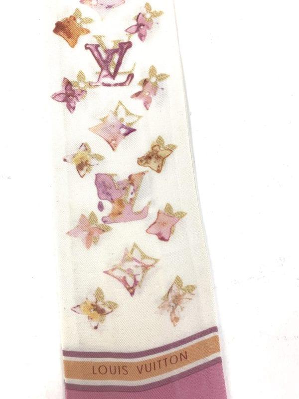 Louis Vuitton Silk Watercolor Aquarelle Bandeau