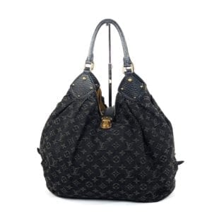 Louis Vuitton Denim Mahina XL Black