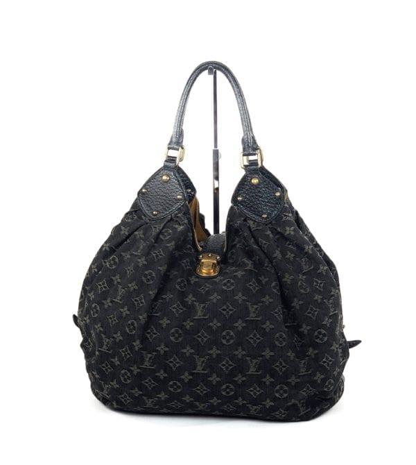 Louis Vuitton Denim Mahina XL Black