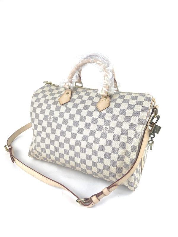 Louis Vuitton Damier Azur Speedy Bandouliere 35