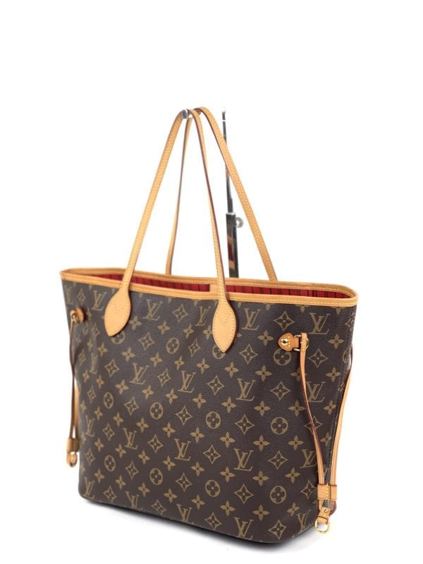 Louis Vuitton Monogram Neverfull MM Red