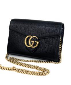 Gucci GG Marmont Chain Mini Bag Black