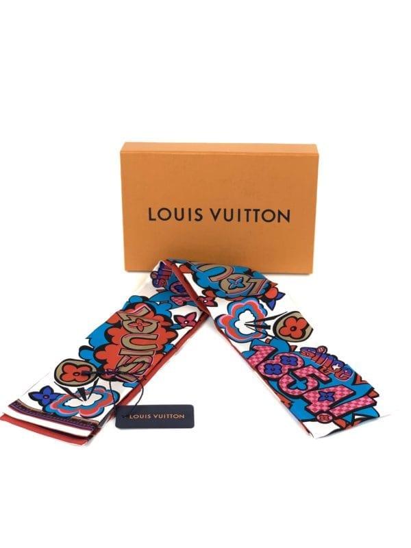 Louis Vuitton Street Monogram Bandeau White