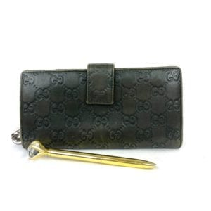 Gucci GG Twins Wallet Olive Green