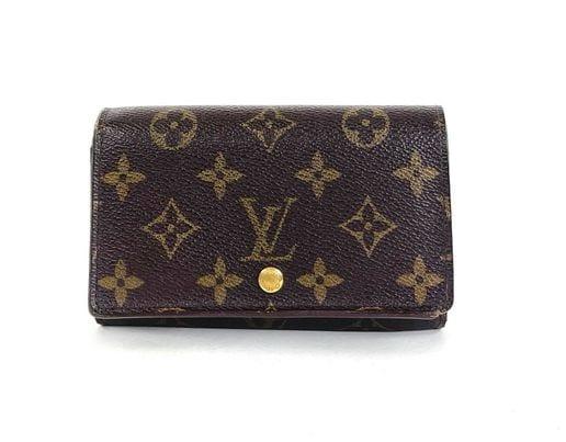 Louis Vuitton Monogram Porte-Monnaie Tresor Wallet
