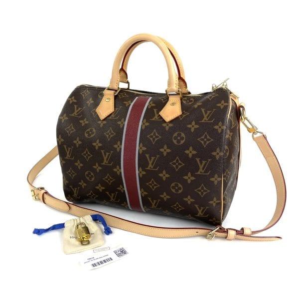 Louis Vuitton Monogram Speedy Bandouliere 30 My Heritage