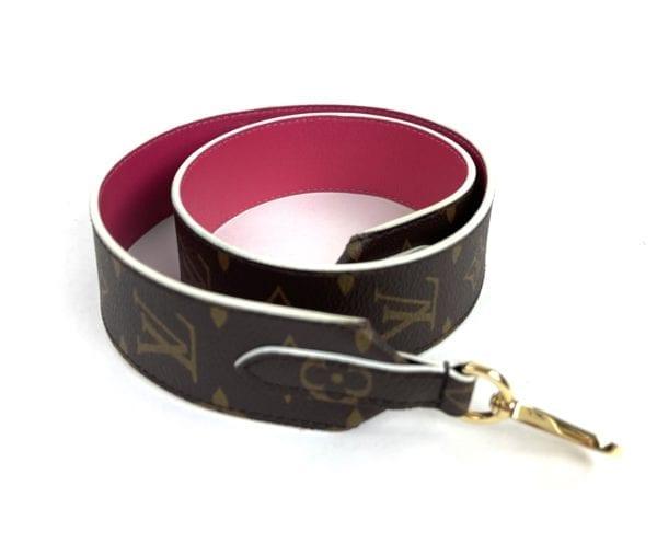 Louis Vuitton Bandouliere Strap Hot Pink
