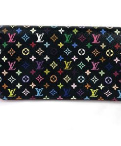 Louis Vuitton Monogram Multicolor Insolite Wallet Black Grenade