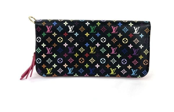 Louis Vuitton Monogram Multicolor Insolite Wallet Black Grenade
