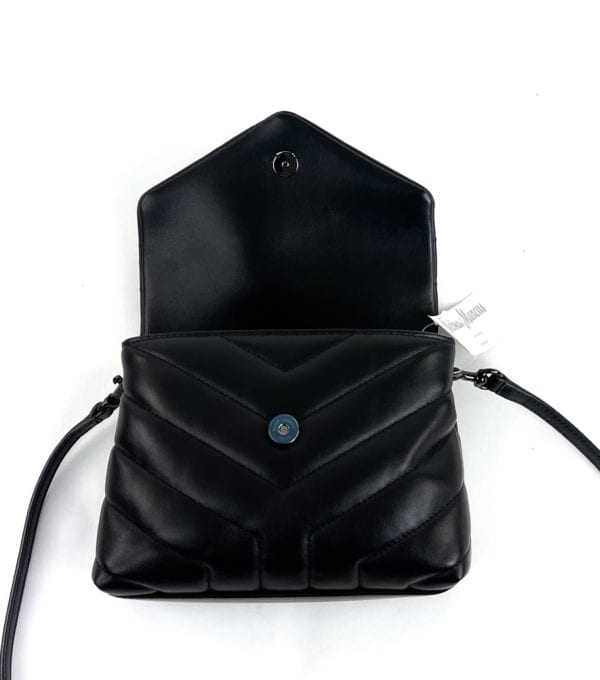 YSL Loulou Toy Mini Quilted Shoulder Bag
