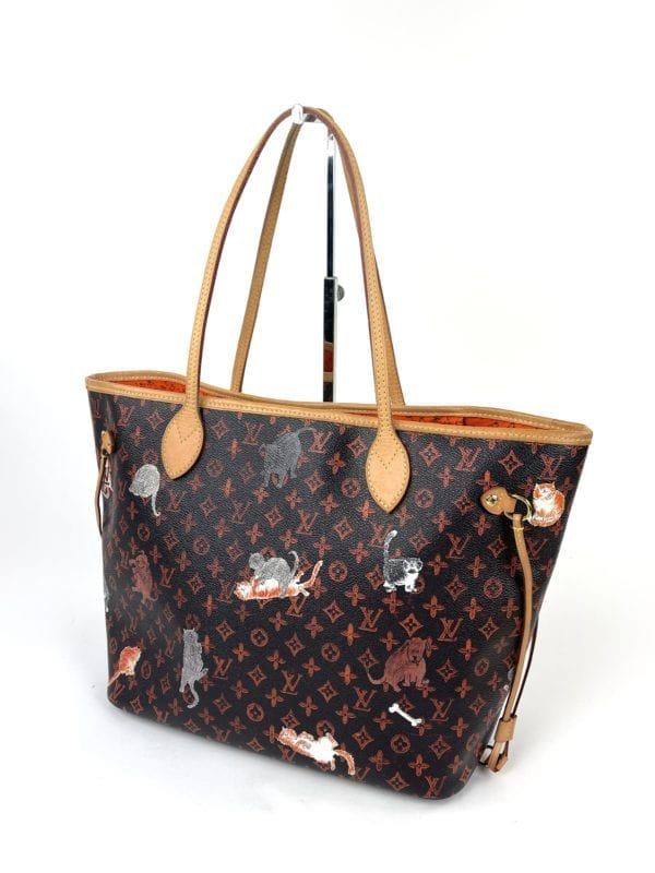 Louis Vuitton Catogram Neverfull MM with Pouch