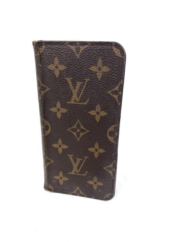 Louis Vuitton Monogram Eclipse iPhone 7 Plus Folio Case