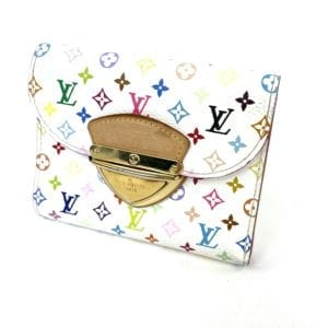 Louis Vuitton Monogram Multicolor Koala Wallet White