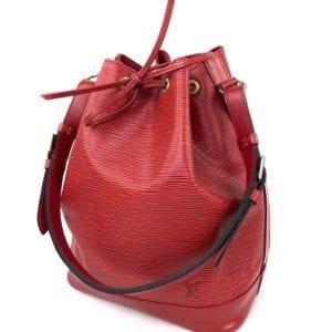 Louis Vuitton Red Epi Noe GM