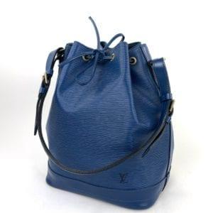 Louis Vuitton Blue Epi Noe GM