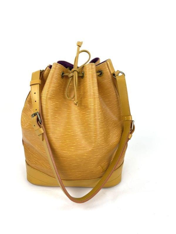 Louis Vuitton Yellow Epi Noe GM