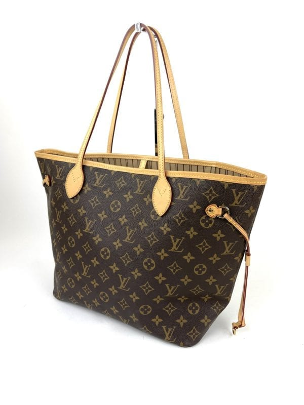 Louis Vuitton Monogram Neverfull MM Tan