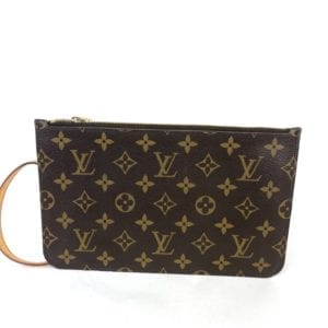 Louis Vuitton Monogram Neverfull Pochette Piment