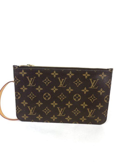 Louis Vuitton Monogram Neverfull Pochette Piment