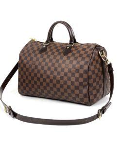 Louis Vuitton Damier Ebene Speedy Bandouliere 35