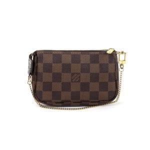 Louis Vuitton Damier Ebene Mini Pochette Accessories